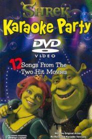 Shrek en el baile con karaoke en la ciénaga