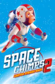Space Chimps 2: Zartog ataca de nuevo